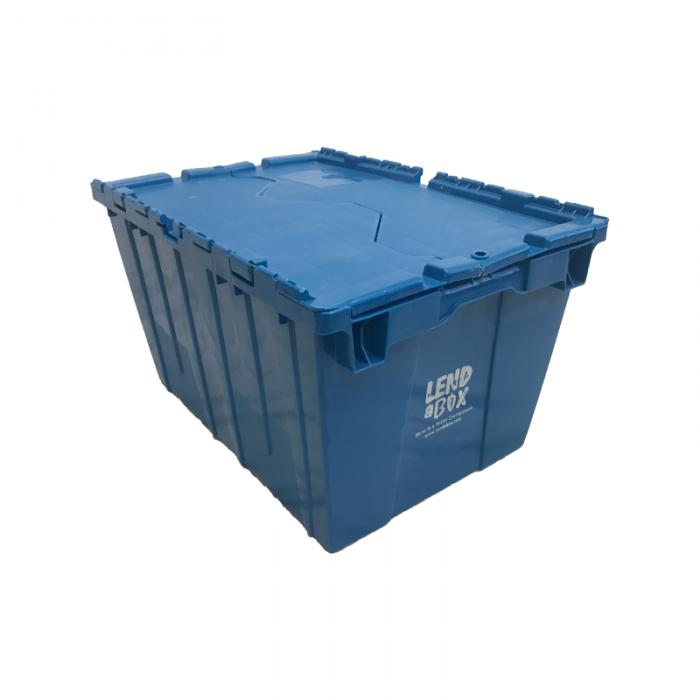 Lend A Box | Blue Box