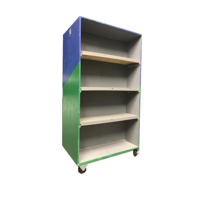 Lend A Box | Library Cart