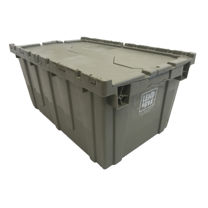 Lend A Box | Gray Box